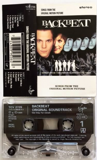 Backbeat Band (The) ‎- Backbeat: Songs From The Original Motion Picture (Cassette Album) (VG+/VG+)